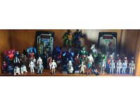 Want to buy star wars, action figures and vintage toy collections.