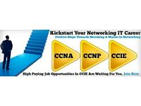 CCENT/CCNA/CCNP Training + 4 Weeks Unpaid International Industry Experience