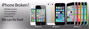 SPECIAL PROMOTION FOR MARCH: $75 only for iPhone 5 SCREEN REPAIR REPLACEMENT SERVICE + WARRANTY. $85 for iPhone 5c 5s