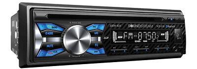Soundstream VCD-21B Carbon Fiber Look CD/MP3/WMA Player Bluetooth AUX USB Input