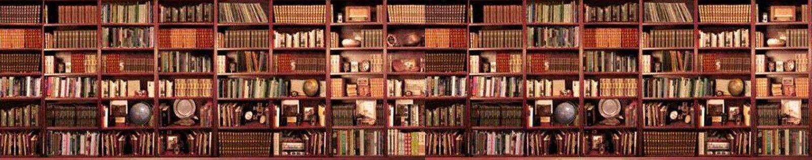 Overcrowded Bookshelf