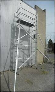 NEW Double Width Aluminium Mobile Scaffold: 4m High! $1462+GST! Revesby Bankstown Area Preview