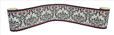 (Wall Border For Rose Damask Baby Bedding Set by Sisi)