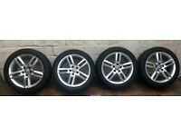 """18"""" Genuine Audi S-Line alloys With excellent tyres."""