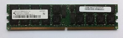 2x2GB 4GB DDR2 4200R 400MHz ECC RAM IBM FRU 73P2867 39M5812 39M5811...