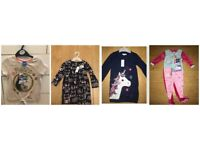 4x NEW GIRLS 2-3 BLUE ZOO+ PEPPA PIG £17 TAGGED UNICORN DRESS/ MOANA /BUNNY/CAT DRESS