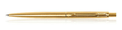 Parker Classic Gold Trim GT Retractable Ball Point Pen, Blue Ink, Fine Tip New