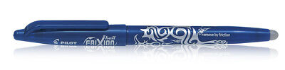 New Pilot Frixion Roller Ball Pen Blue Ink Pack Of 1 Gift Free Shipping