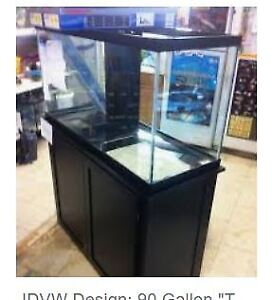 Looking for 90 Gallon Fish tank w Stand