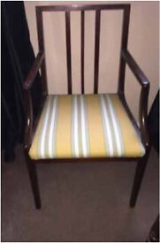 Re upholstered chair