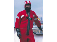 Crewsaver Immersion / Abandonment Suit - Universal Size - New & Never used.