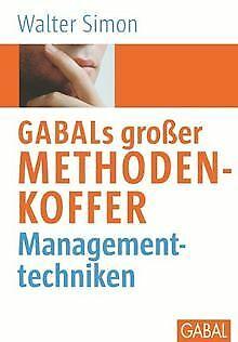 GABAL's großer Methodenkoffer Managementtechniken... | Buch | Zustand akzeptabel