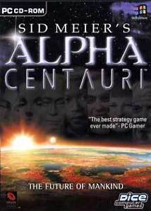 ALPHA CENTAURI - Sid Meier's PC Space BRAND NEW