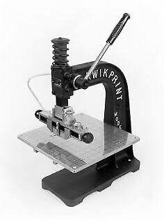 Kwikprint Foil Stamping Machine