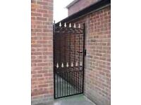 HEAVY DUTY METAL SIDE GATE
