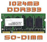 DDR1 1GB Notebook