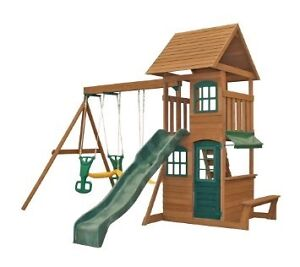 URGENT NEED SOMEONE TO PUT UP WOODEN SWING SET