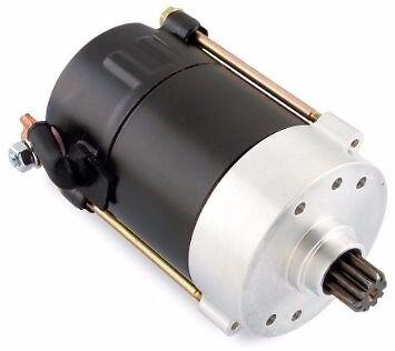 NEW All Balls HARLEY 1.4kw Starter Motor (Hitachi Type) Black Starter  FREE SHIP - Black Super Balls