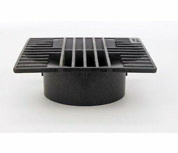 Advanced Drainage 0642SDB/4 Square Drain Grate Black