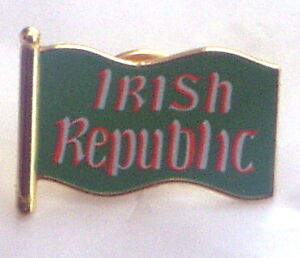 IRISH REPUBLIC FLAG  PIN BADGE