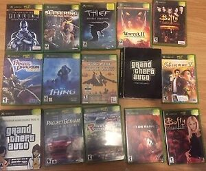 selling some xbox orig games