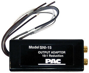 PAC SNI15 Line Output Converter for Adding Amplifier