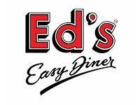 Assistant Manager - Ed's Easy Diner - Cambridge Extra - Up to £24,000 - Bonus - Generous Discount