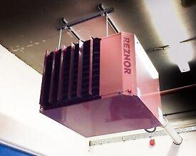 REZNOR WORKSPACE/FACTORY HEATER - GAS 64KW