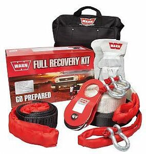 WARN -  4X4/4WD Full Recovery Kit, Shackles, Snatch Strap, Winch Extension etc.