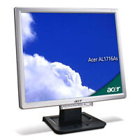 Acer AL1716 LCD Monitor 17""