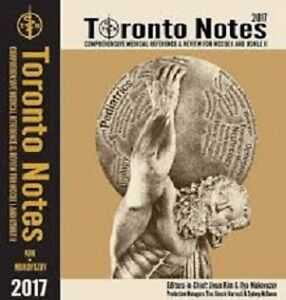 Toronto notes 2017 +Cours Video en francais +usmlestep1/2/3