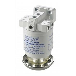 Vetus 330VTEB Water Separator / Fuel Filter, 10 micron