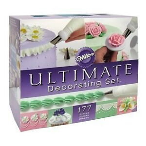 New Wilton Ultimate Professional Cake Decorating Kit Set ...