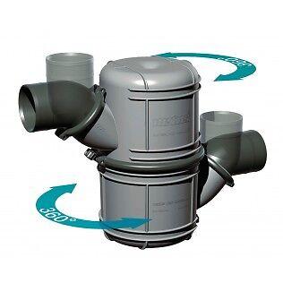 Vetus NLP75 Rotatable waterlock / muffler
