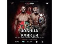 AJ vs Parker Tickets x6 for sale..