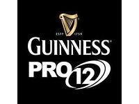 Guinness Pro 12 Final - Dublin - 3 tickets