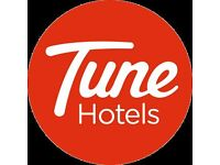 Nights Receptionist - Tune Hotel Paddington