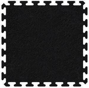 """Premier Rubber Tiles - 36"""" x 36"""" x 3/8"""" Black"""