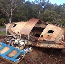 FREE    ready  for  restoration  2   boats Lilyfield Leichhardt Area Preview