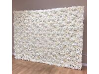 Flower Wall For Hire Ivory Flowerwall