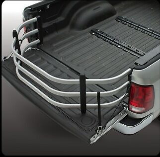(Amp Research Silver Powdercoat Bed Extender Sport -BedXtender HD Sport 74802-00A)