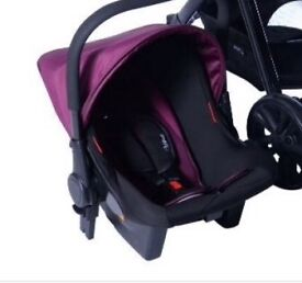 Red kite baby car seat purple (only have car seat)