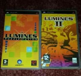Lumines and Lumines 2 psp games