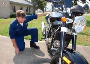 Inspection de moto,entretien et reparation. A partir de 60$