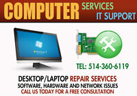 Professional PC Services/IT Support for Residential and Business