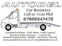 Car Recovery / Transporting Liverpool NW & UK Local - Fully Insured