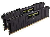 Corsair CMK8GX4M2B3000C15 Vengeance LPX 8 GB (2 x 4 GB) DDR4 3000 MHz C15 XMP 2.0 High Performance