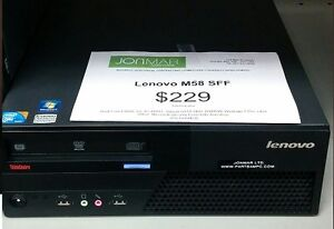 Lenovo Desktop Small Form-Factor