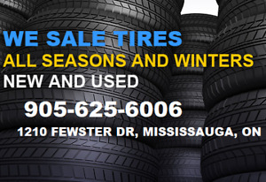 ABC Quality used All season and Winter tires & Used steel rims
