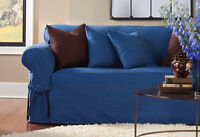 """Slipcover Denim """"Sure-Fit"""" Brand Couch Slipcover"""